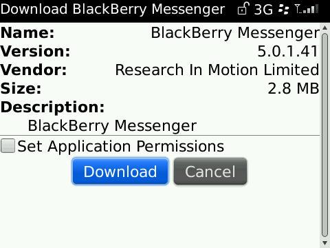 Download the new blackberry messenger 5. 0 ota – smartphone nation.