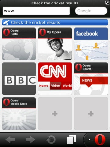 Opera Mini 6 Browser Now Available For Download – New Look